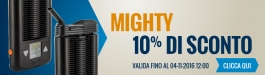10% Di Sconto MIGHTY